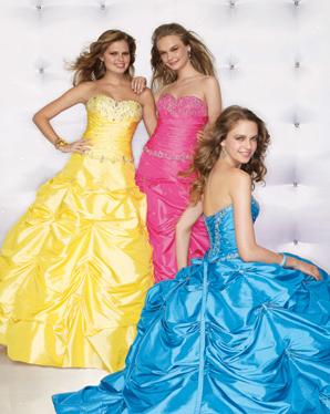 Цвет свадебного платья о чем-то говорит