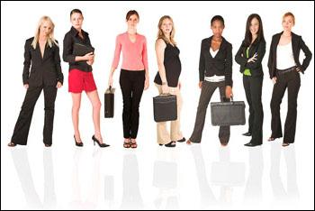 Гардероб деловой женщины примеры