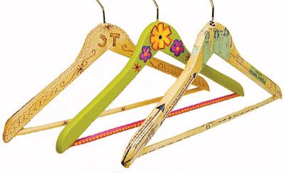 Деревянные вешалки для одежды своими руками