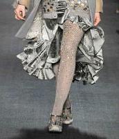 Модные колготки 2010 с блестками