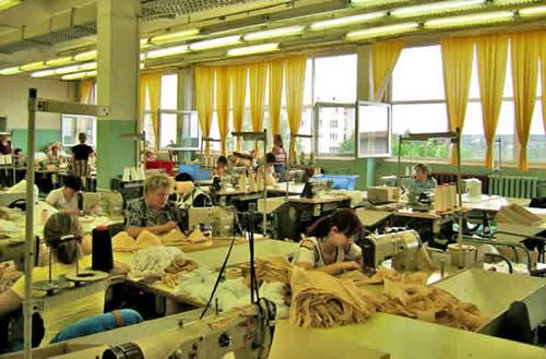 Организация швейного предприятия