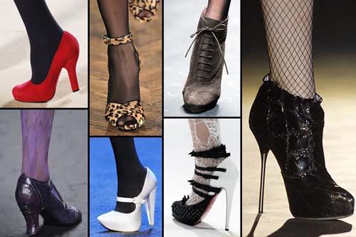 Модная женская обувь 2011 фото