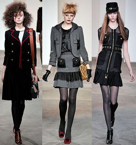 Модные тенденции осени фото