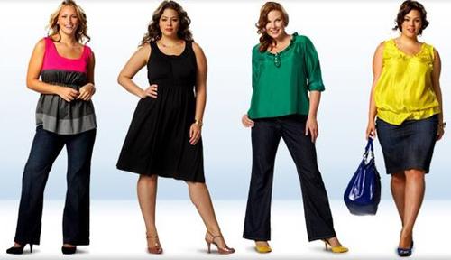 Нарядная и стильная одежда для полных женщин фото
