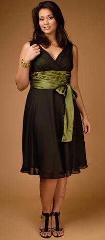 Стильная одежда для полных женщин фото