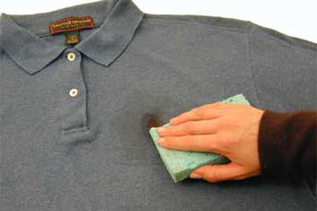 Удаление пятен с одежды в домашних условиях фото