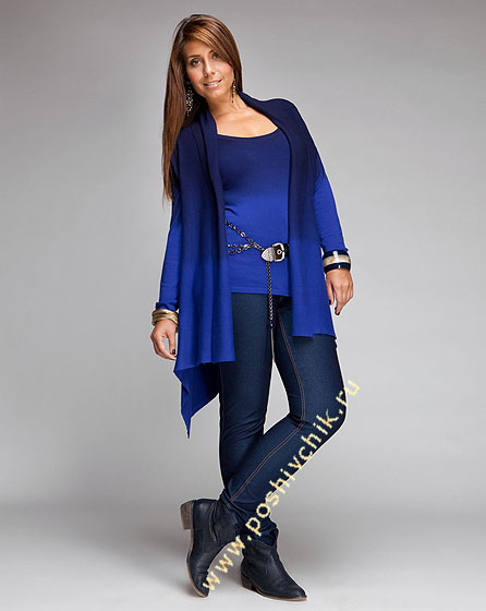 Как выбрать джинсы для полных женщин фото