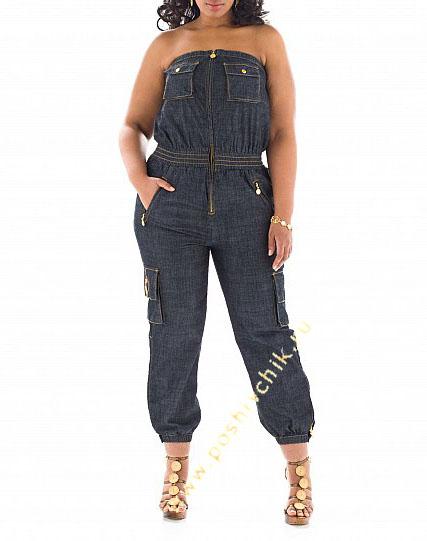 Как выбрать джинсы для полных девушек фото
