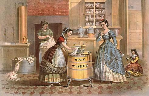 История развития стиральных машин фото