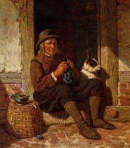 история возникновения вязания крючком и спицами