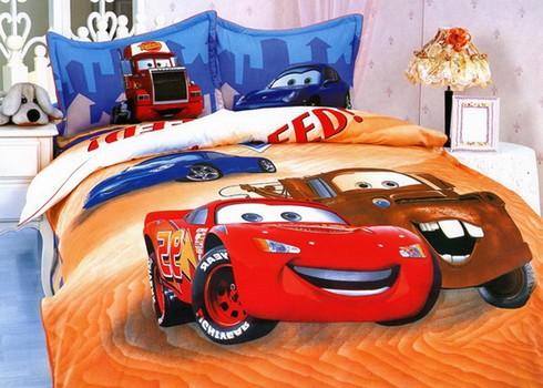 Как выбрать детское постельное белье тачки фото