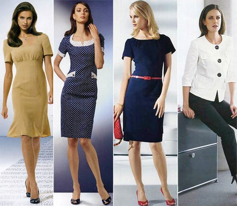 Женский дресс-код для офиса фото
