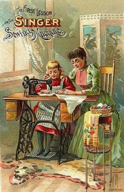 Швейные машины Singer помощницы многих поколений