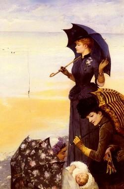 Светские дамы в истории зонта фото