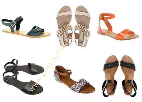 Модные тенденции летней обуви в 2012 году сандалии фото