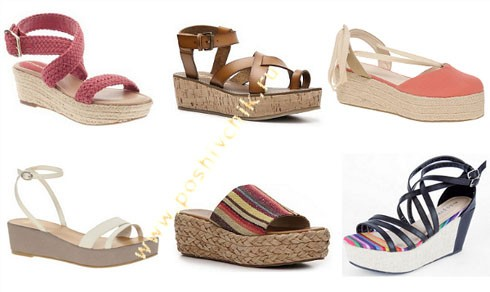 Модные тенденции летней обуви в 2012 году Flatforms фото