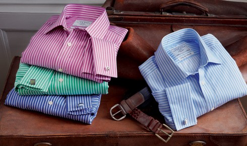 Мужская полосатая рубашка: как выбрать, с чем носить, как подобрать галстук и костюм фото