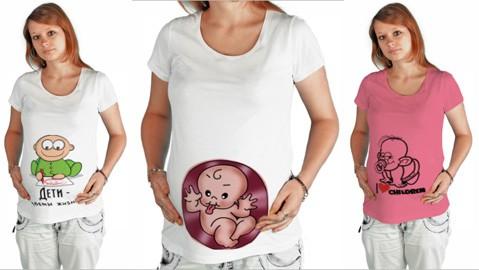 Прикольные футболки для беременных с приколами в виде забавных картинок фото