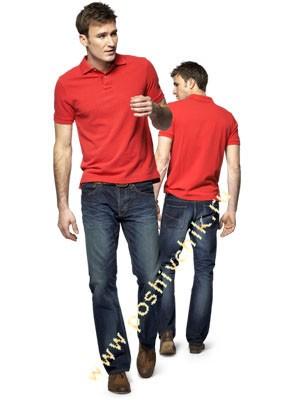 С чем можно носить джинсы мужчинам c футболкой Поло фото