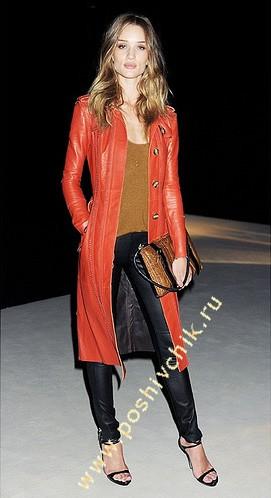 С чем носить женские кожаные брюки горячий и острый стиль фото