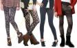 С чем носить женские леггинсы: 5 идей сочетания с фото