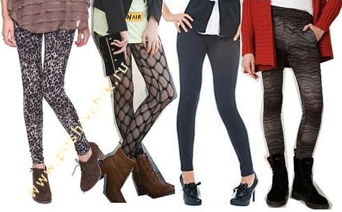 С чем носить женские леггинсы 5 идей сочетания с фото