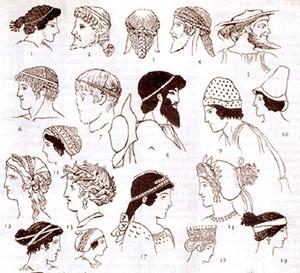 Старинные головные уборы названия фото