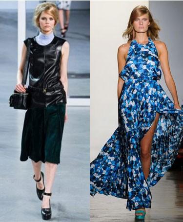 Модные тенденции на осень 2012 года: фото Derek Lam и Peter Som