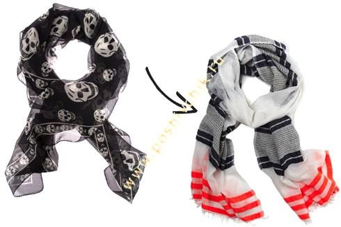 Обновленная классика летний шарф фото
