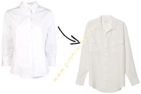 Обновленная классика рубашка фото