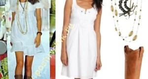 Сапоги на лето как носить с белым платьем фото