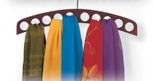 Вешалка для шарфов, ремней и галстуков фото