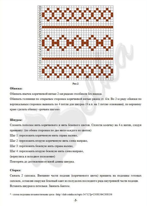 Описание и схема угги лапландия
