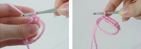 Вяжем столбики без накида