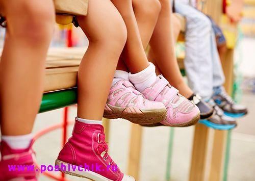 Как выбрать правильную обувь для детей школьного возраста фото