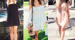 Фото короткие платья с обувью без каблука