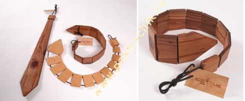 Деревянный галстук фото