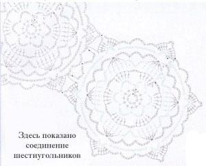 Соединение шестиугольников винтербурн