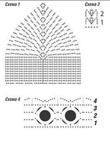 закрытые купальники крючком топ 12 моделей со схемами и описанием