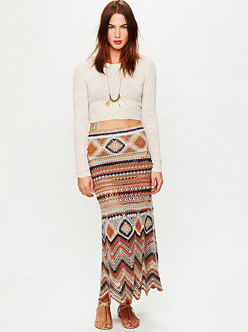 модель Jezebelle Maxi Skirt