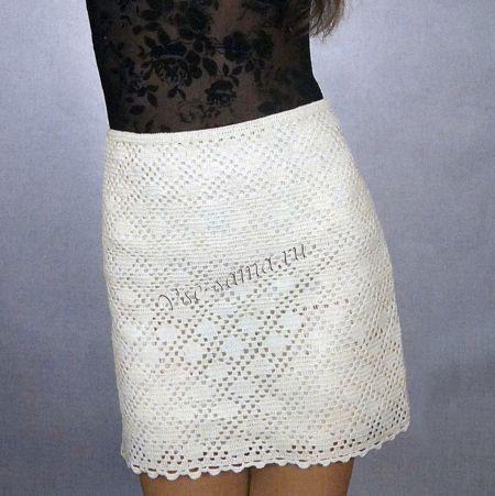 Короткая юбка «Шампань»
