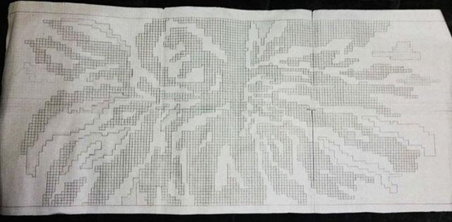 Схема для длинного платья