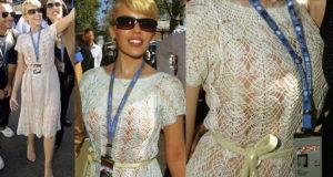 Вяжем платье от Кайли Миноуг