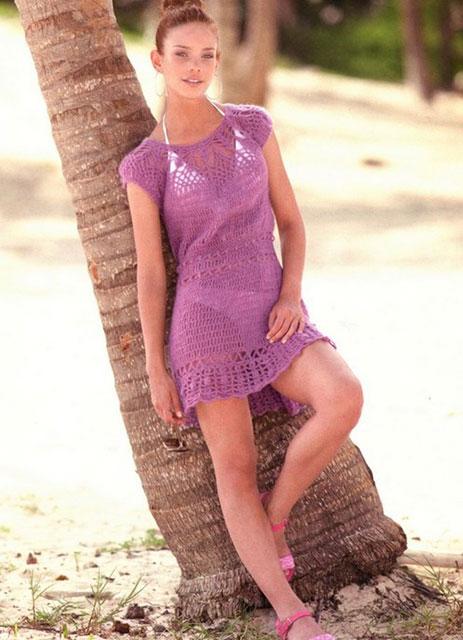 Платье «Скарлет» цвета мальвы