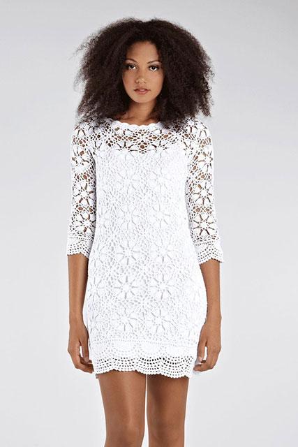 Платье белоснежное очарование