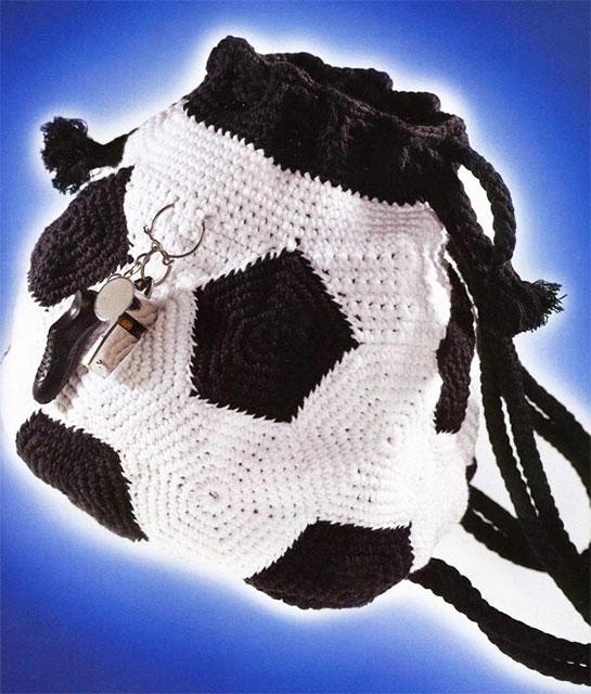 Рюкзак Футбольный мяч для детей