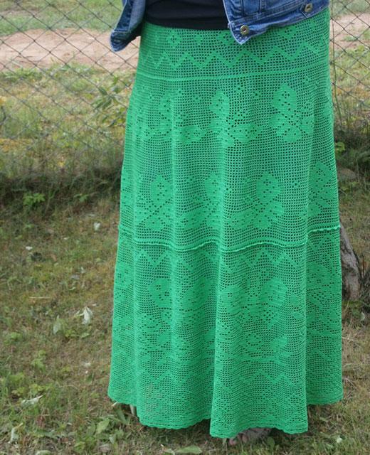 Длинная юбка в пол «Фантазия»