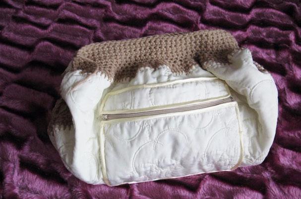 Готовая внутренняя сумочка