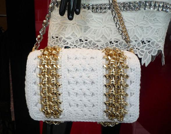 Жакет и юбка с подиума от Dolce&Gabbana крючком – схема вязания с описанием и мастер-классом на видео