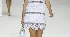 Платье с подиума от Dolce&Gabbana крючком